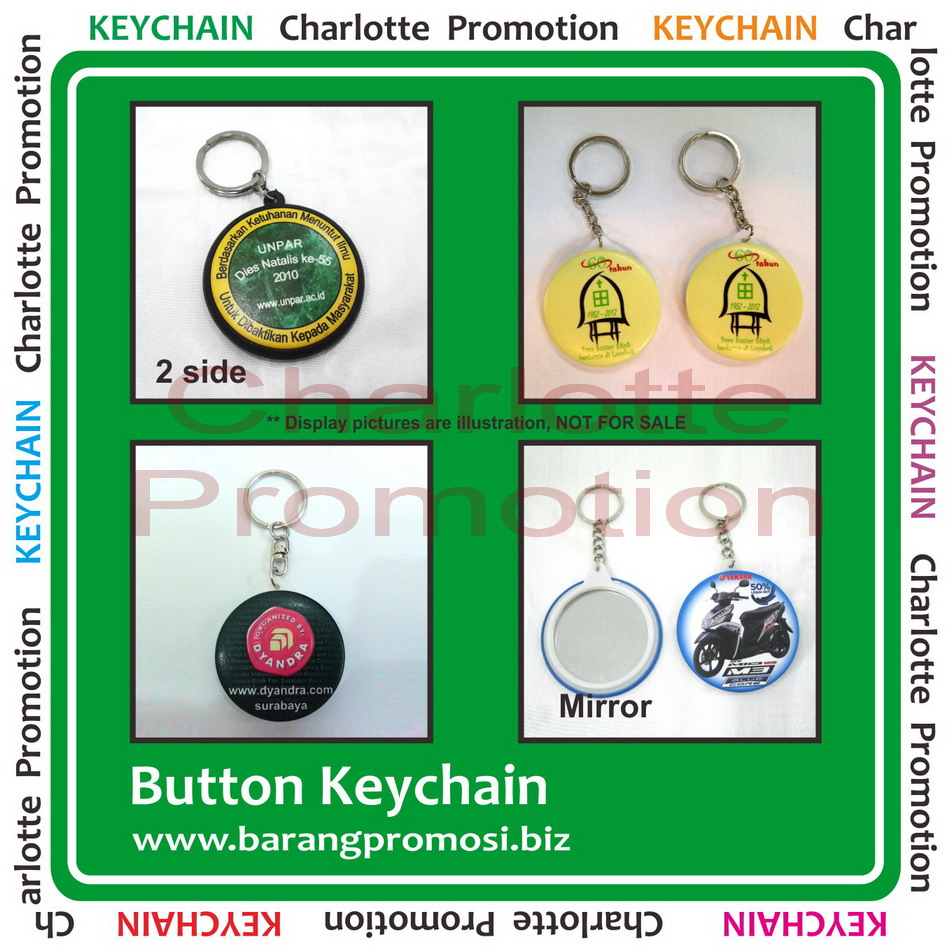 Index Of Gambar Unit Running Text Gantungan Holder Barang Promosi Kunci Button Keychain